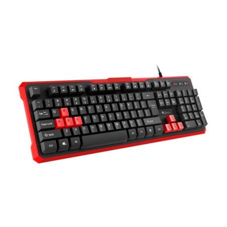 Genesis Rhod 110 - Gaming Toetsenbord - Met rode toetsen - US Layout