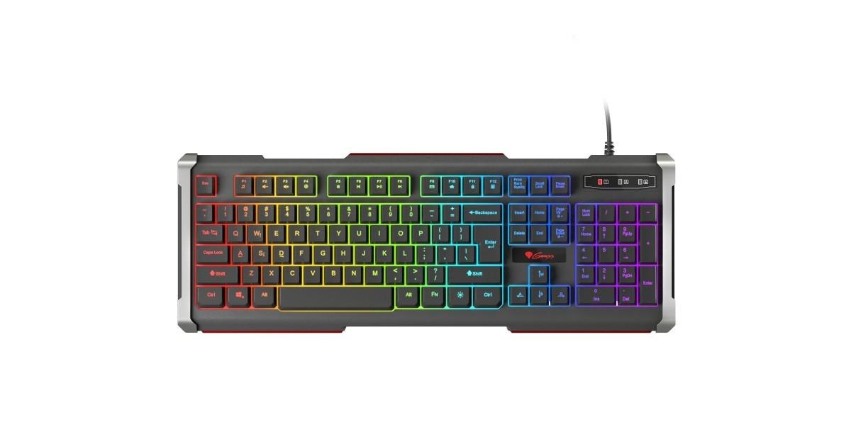Genesis - Rhod 400 RGB US layout gaming toetsenbord - met RGB verlichting
