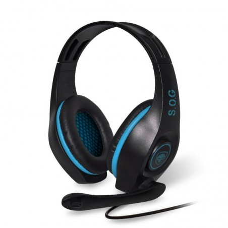 Spirit of Gamer - Pro-H5 Multiformat Gaming Headset voor PC Xboxone en PS4 - Blauw