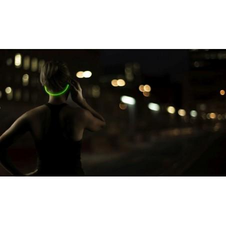 Boompods In-Ear Sports Headphones met Licht - Blauw