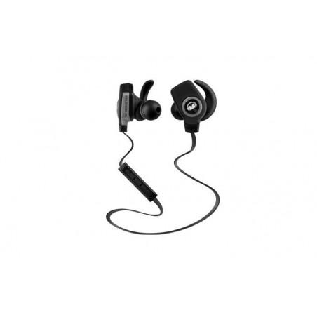 Monster iSport Bluetooth Draadloze SuperSlim In-Ear Koptelefoon Zwart