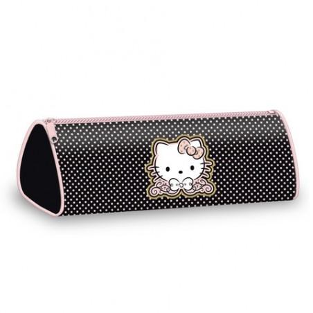 Hello Kitty Etui Zwart / Roze