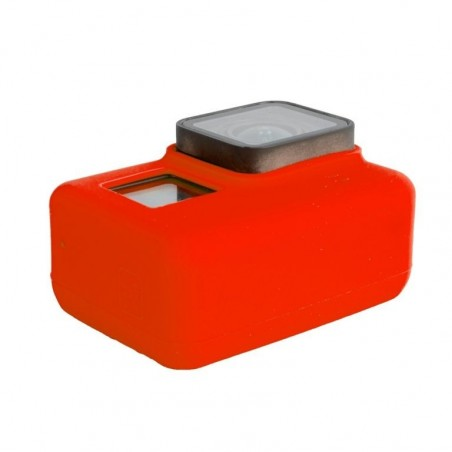Tuff-Luv - GoPro Hero 5 Siliconen Bescherming Case Cover Shell - Rood