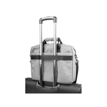 Natec Mustela - Laptoptas - 15,6 inch - Grijs