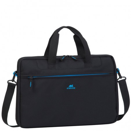 RivaCase Laptop Schoudertas - 15.6 Inch - Zwart