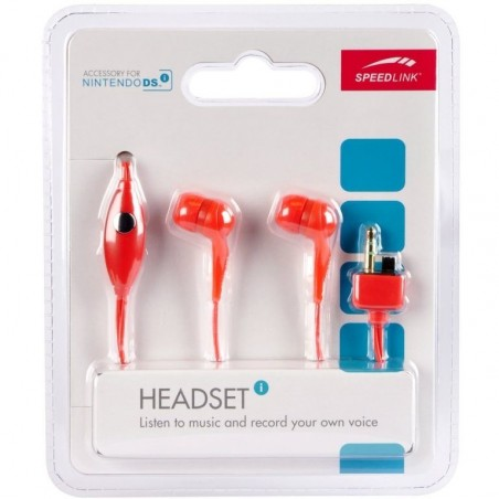 Headset for NDSi, Red