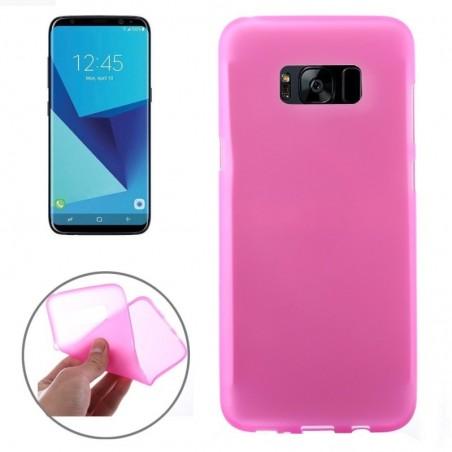 Tuff-Luv - Zachte TPU Case - Voor de Samsung Galaxy S8 Plus - Roze
