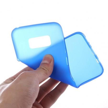 Tuff-Luv - Zachte TPU Case - Voor de Samsung Galaxy S8 Plus - Blauw