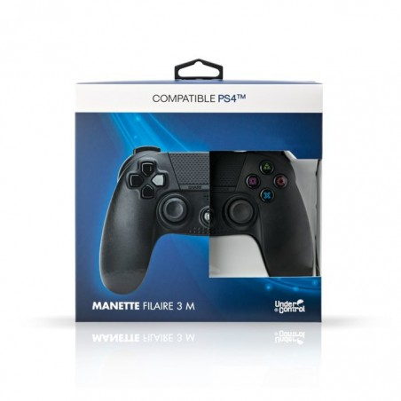 Under Control - Bedrade Controller V2 voor de Playstation 4 - Zwart