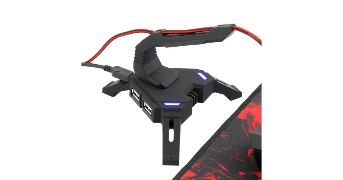 White Shark muis Bungee USB HUB X-200 Scorpion