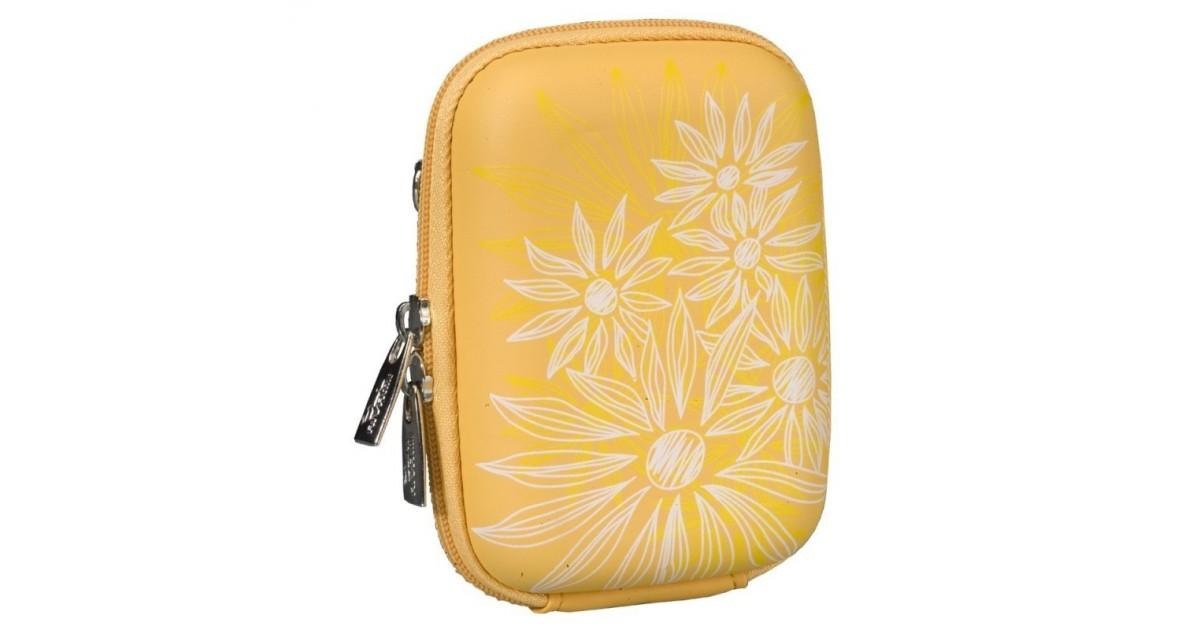 Rivacase 7023 (PU) Digital Case yellow (flowers)