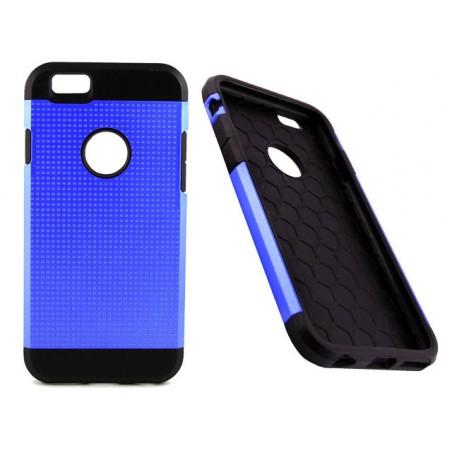 AA Iphone 6 (Blue) Slim Armored Tough Metallic Silicone Case