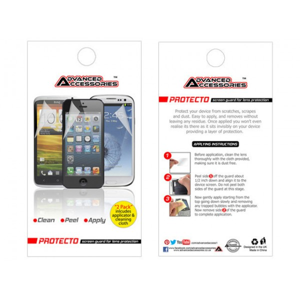 2 Pack - AA Iphone 6 Plus Screen Protectors / Guards