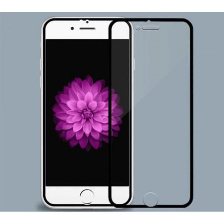 Unit Tempered Glass screen protector voor iPhone 6 PLUS / 6S PLUS - Zwart