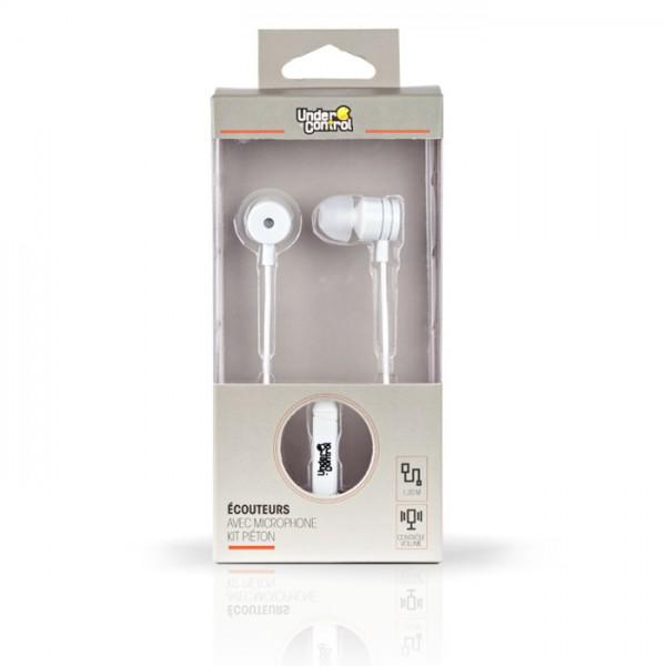Under control in-ear koptelefoon, wit