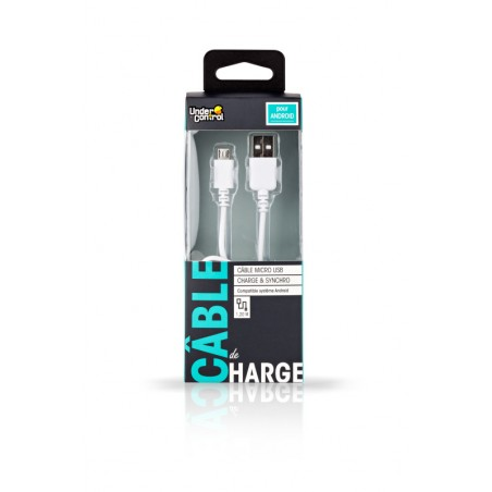 Under Control - Micro USB Kabel - Wit