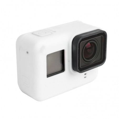 Tuff-Luv - GoPro Hero 5 Siliconen Bescherming Case Cover Shell - Wit