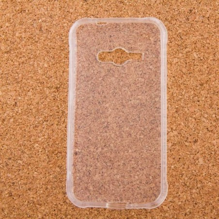 E-Volve - Siliconen TPU Gel hoes voor Samsung J1 Ace