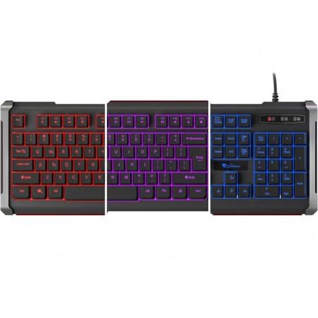 Genesis Rhod 400 - Gaming toetsenbord - US layout - Achtergrondlicht -Zwart