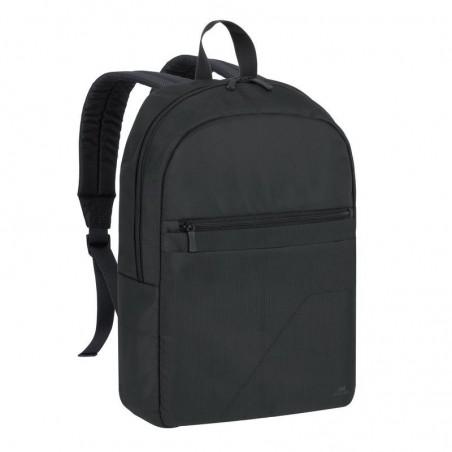 RivaCase Laptop Rugzak - 15.6 Inch - Extra vak voor 10.1 Inch tablet - Zwart
