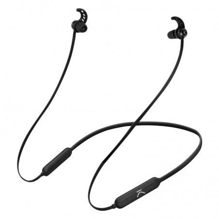 Ksix - Go en Play Draadloze Sport Koptelefoon Stereo met Microfoon - Zwart
