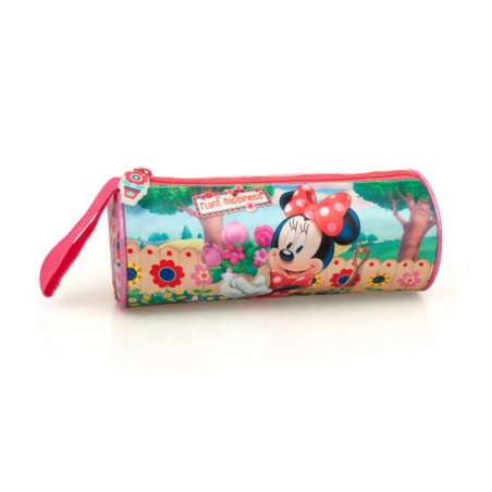 Minnie Mouse - Etui - 21 cm - Roze