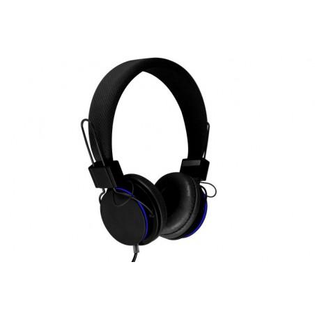 Media-Tech Pictor - Koptelefoon met Microfoon - Zwart/Blauw