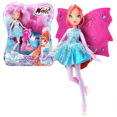 Winx Club Tynix Fairy Bloom met dagboek