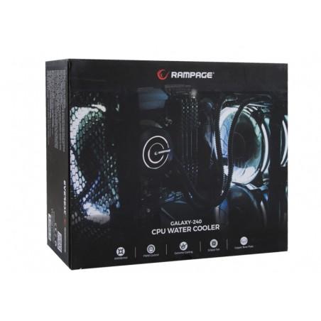 Rampage Galaxy-240 CPU Water Koeler