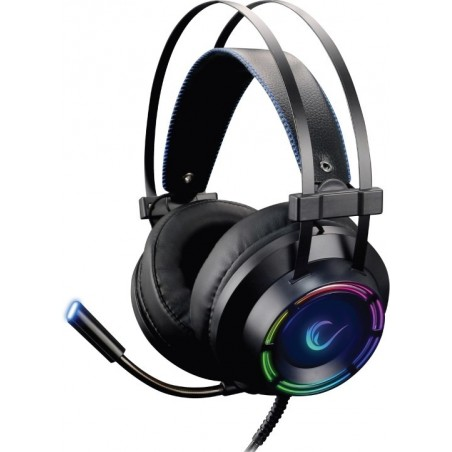 Rampage RM-19 FORTE RGB USB 7,1 - Surround sound Headset met microfoon en LED