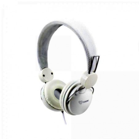 Sbox Koptelefoon HS-736W Coconut - Wit
