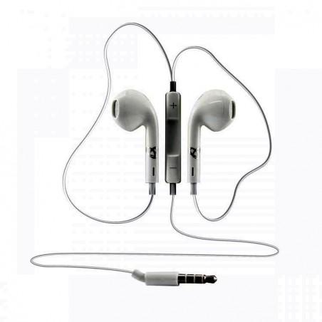 Sbox in-ear koptelefoon bedraad apple look IEP-204 White 3.5 jack