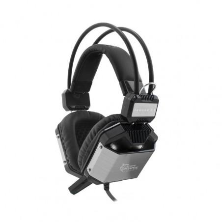 White Shark 7.1 Jaguar gaming headset - zwart en silver