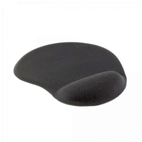 Sbox Muismat met ergonomische polsondersteuning MP-01 Zwart