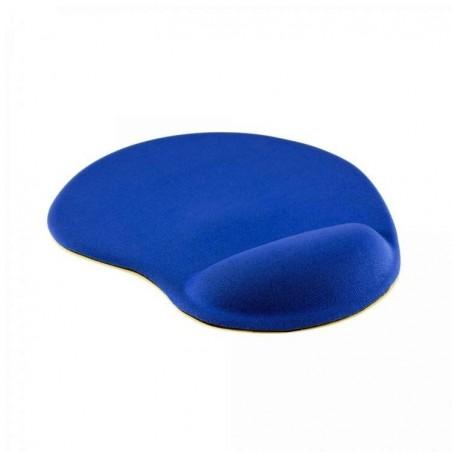 Sbox Muismat met ergonomische polsondersteuning MP-01 Blauw