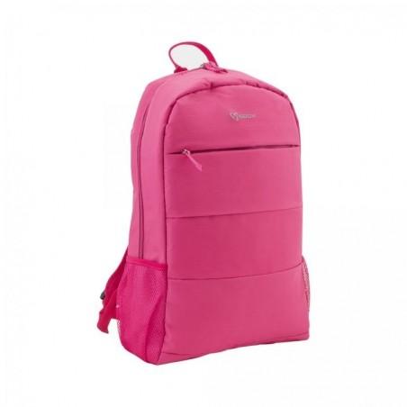 Toronto 15.6 inch laptop tas - Roze