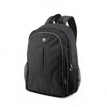 Boston laptop tas 15.6 inch - Zwart
