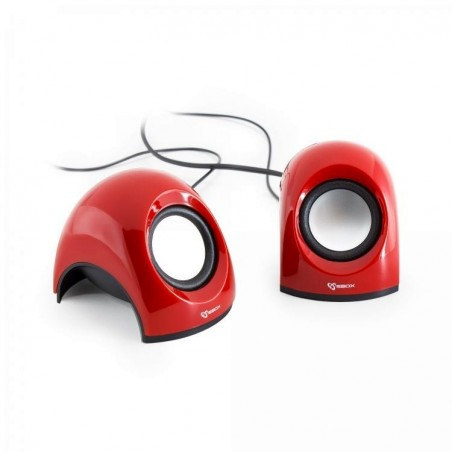 Sbox 2,0 Speaker SP-092R Strawberry, Red