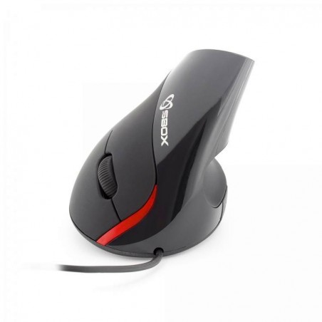 Sbox VM-921 ergonomische muis Black