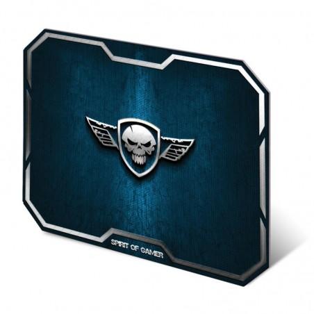 Spirit of Gamer - Muismat Skull - Medium - Blauw