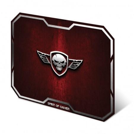Spirit of Gamer - Muismat Skull - Medium - Rood