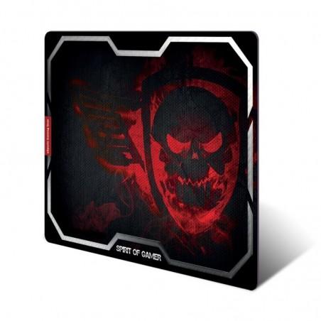 Spirit of Gamer - Muismat Smokey Skull - XL - Rood