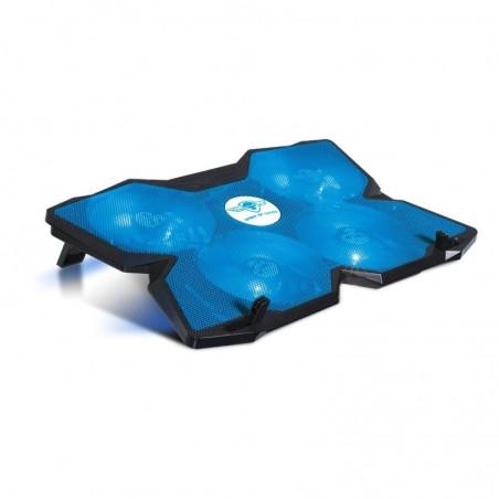 Spirit of Gamer - Laptop Cooling pad - Koeler Blade 500 - tot 17 inch - Blauw