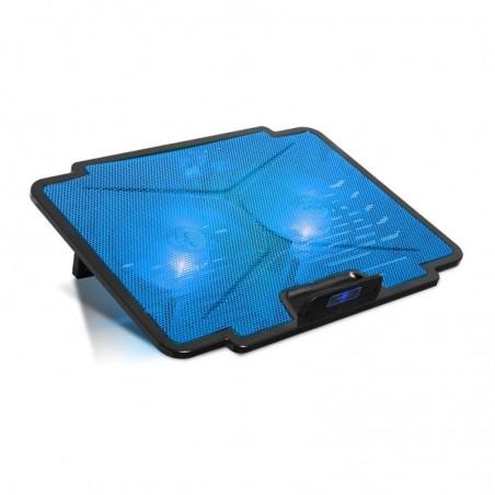 Spirit of Gamer - Laptop Cooling pad - Koeler Blade 100 - tot 15,6 inch - Blauw