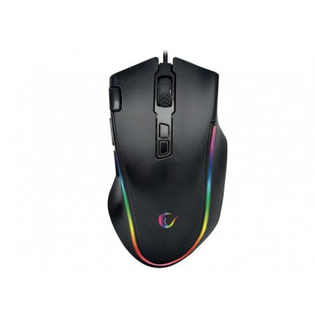 Rampage SMX-G72 greedy gaming muis -RGB - 4800 dpi