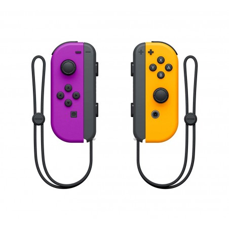 Nintendo Switch Joy-Con Pair Neon Purple/Orange