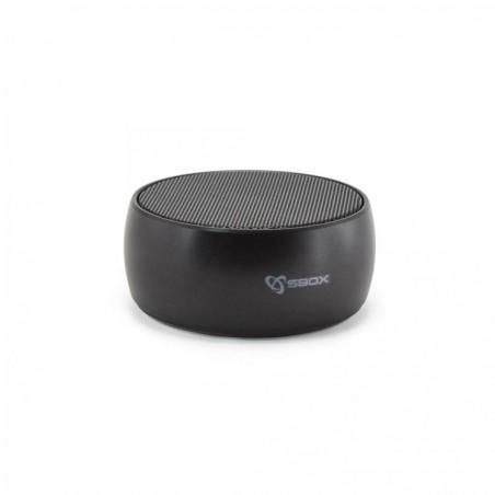 Sbox - Draadloze high quality  Bluetooth speaker BT12- zwart