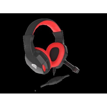 Genesis Argon 100 stereo headset - rood