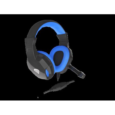 Genesis Argon 100 stereo headset - blauw