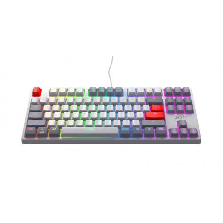 Xtrfy K4 TKL - Mechanisch Gaming toetsenbord met RGB Retro Edition - AZERTY Belgisch layout